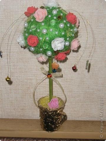 Дерево счастья из сизаля( повторялка)