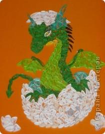 Вот такой дракоша планировался в подарок человеку родившемуся в год Дракона