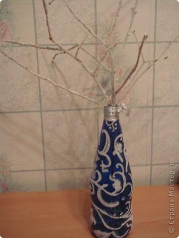 Снежная бутылочка