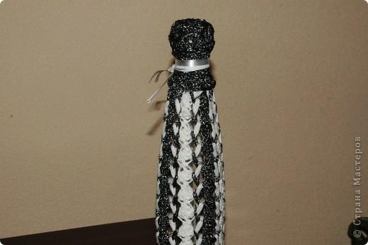Вязание крючком на вилке. фото 2