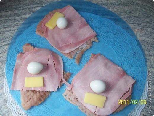 Рулеты с перепелиными яйцами и картофельное пюре. фото 4