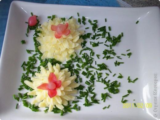 Рулеты с перепелиными яйцами и картофельное пюре. фото 8