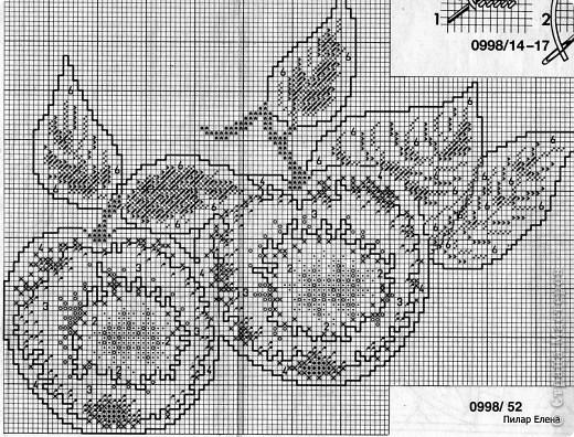 Яблочки вышивались давно-давно, в начале пути вышивания. Они сразу были подарены и так и висят на стенке. фото 3