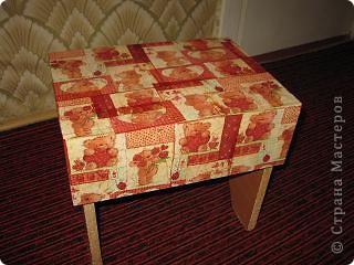 был белый стульчик, сын сказал что его нужно украсить)) вот что получилось, надеюсь ему понравится)) фото 2
