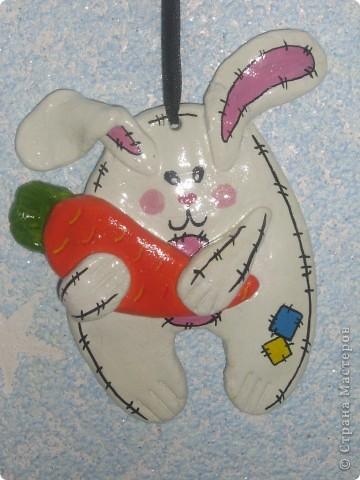Кролики и мишка фото 2