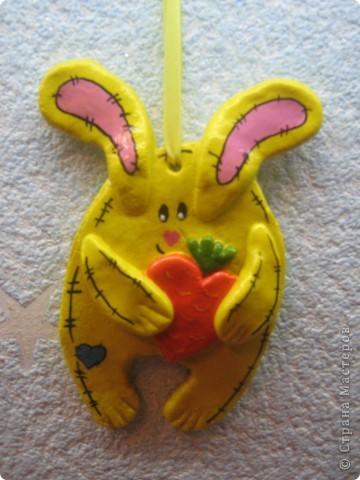 Кролики и мишка фото 4