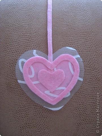 Посетило вдохновение и... вот такое сердечко получилось за 10-15 минут.  Хочу украсить комнату своей доченьки множеством таких (или подобных) сердечек. Она их обожает. :)) фото 3