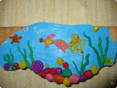 Пластилиновый подводный мир  фото 1