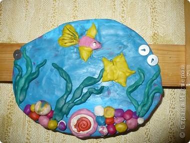 Пластилиновый подводный мир  фото 2