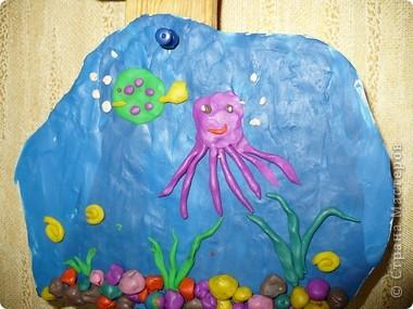 Пластилиновый подводный мир  фото 3