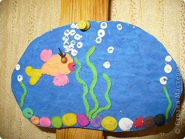 Пластилиновый подводный мир  фото 4
