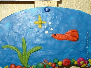 Пластилиновый подводный мир  фото 6