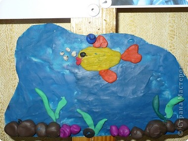 Пластилиновый подводный мир  фото 7