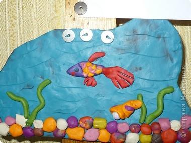 Пластилиновый подводный мир  фото 8