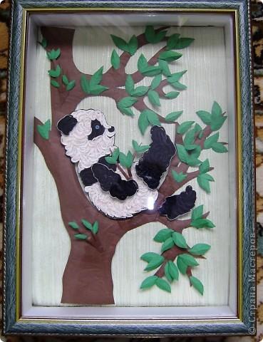 У дочкиной подруги , скоро день рождение. Попросила сделать для нее композицию. Сразу захотела сделать панду(очень они мне нравится.) фото 2
