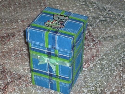 Моя коробочка для рукоделия. Повторюшка. Подсмотрела в Стране Мастеров. Получилась очень нужная и полезная вещь.  фото 1