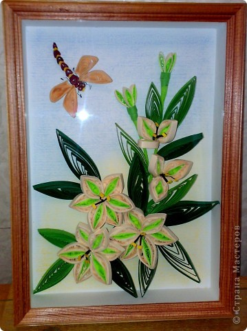 лилии - готовый вариант фото 2
