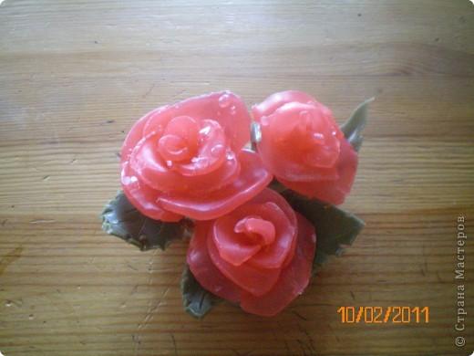 букет розовых роз фото 2