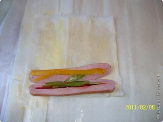 Сосиски в тесте фото 6
