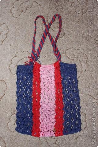 Пляжная сумочка фото 1