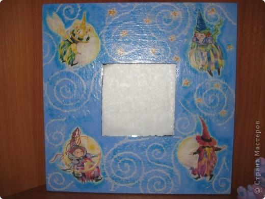 рамка: калька, акрил и лак фото 7