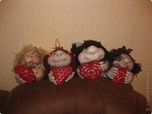 Девочки-Валентинки фото 1