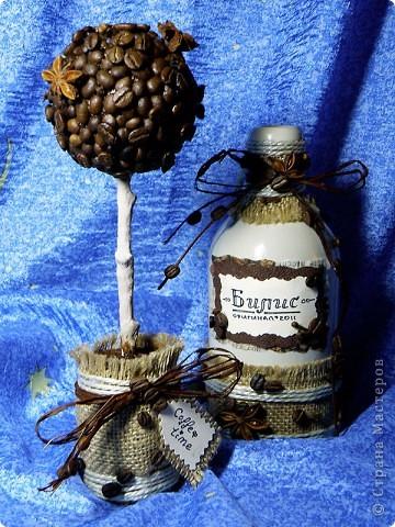 Кофейное деревце и бутылка для кофейного напитка ;) фото 1