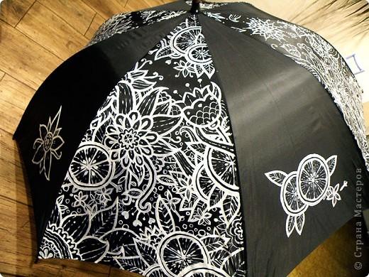 Мой обновленный зонтик :)