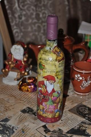 Новогодние бутылочки фото 7