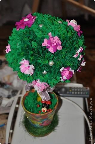 Деревья из гофрированной бумаги:) фото 2