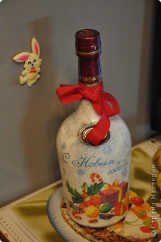 Новогодние бутылочки фото 4