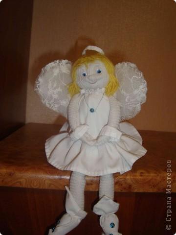 Спасибо девочки вашим мастер-классам. Попробовала впервые в жизни делать куклы. И вот что получилось.  фото 1