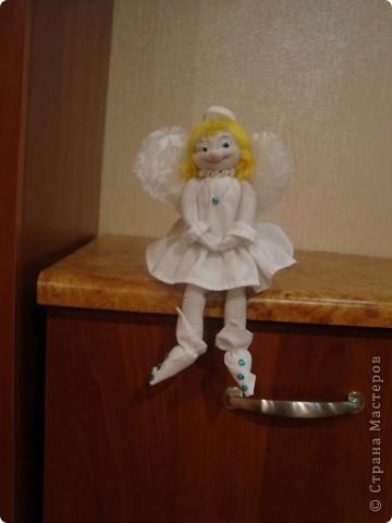 Спасибо девочки вашим мастер-классам. Попробовала впервые в жизни делать куклы. И вот что получилось.  фото 2