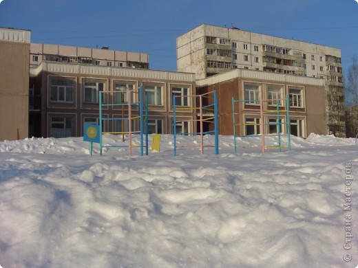 Я живу на окраине города. Этой зимой выпало очень много снега. фото 11