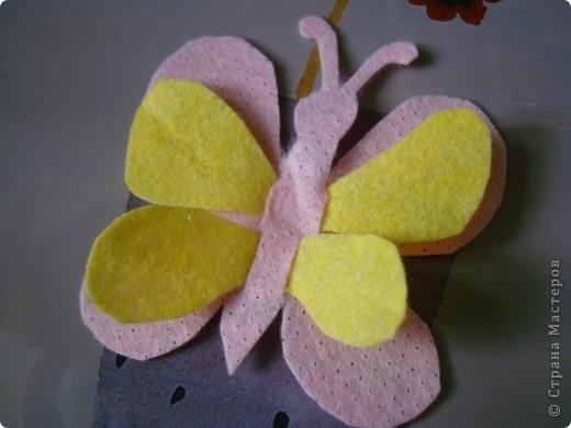 Хочу предложить еще два варианта поделок из салфеток для уборки. Впереди праздники , и может быть такой цветок и бабочка пригодятся для изготовления подарочков вместе с детьми. фото 13