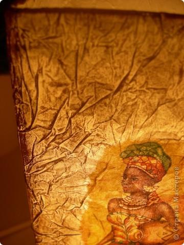 На этот раз в ход пошел светильник из Икеи и все та-же, знакомая всем салфетка, вот результат. фото 6