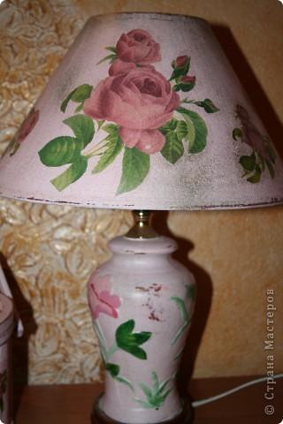 Настольный светильник. фото 1