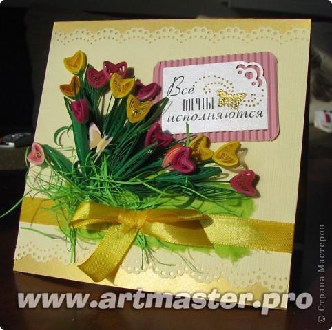 Следом за жельыми тюльпанами захотелось сделать цветные... фото 1