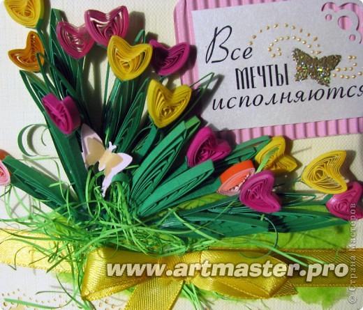 Следом за жельыми тюльпанами захотелось сделать цветные... фото 2