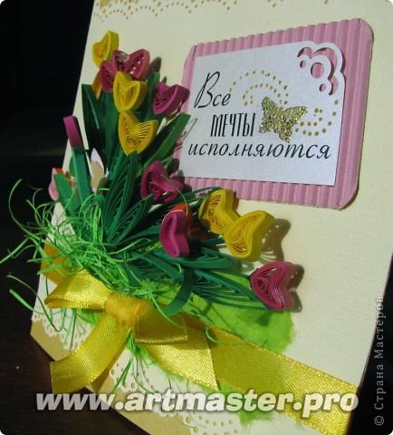 Следом за жельыми тюльпанами захотелось сделать цветные... фото 4