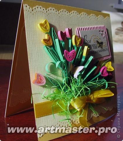 Следом за жельыми тюльпанами захотелось сделать цветные... фото 3