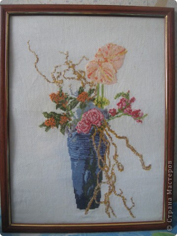 Вышивка крестом фото 2