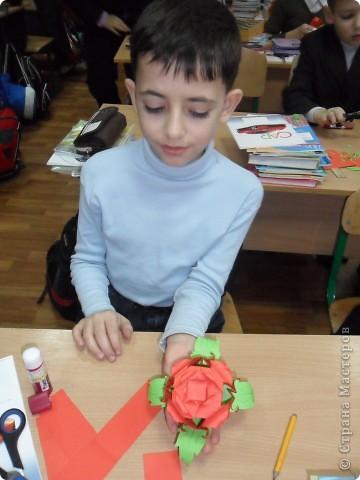 "Кусудама  ""Роза"" фото 1"