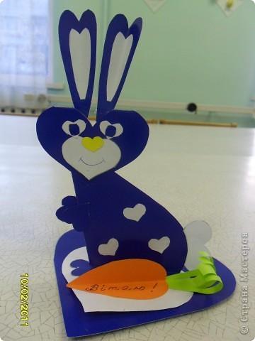 Сердечные кролики на день святого Валентина. фото 3