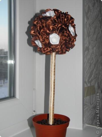 Идею этого дерева позаимствовала у своего любимого мастера STRENFLEX. И вот что получилось ))) фото 3