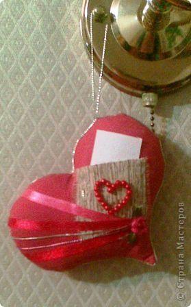 вот такое подарочное сердце с карманом в который можно положить любовную записку фото 1