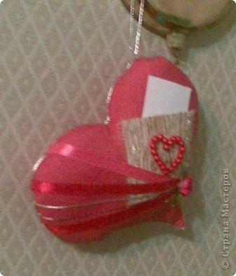 вот такое подарочное сердце с карманом в который можно положить любовную записку фото 2