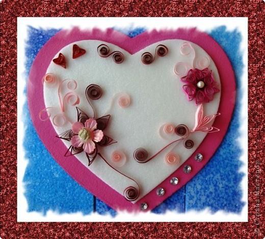Посылаю валентинкy В Виде сердца моего. Hо вглядись скорей в каpтинкy - Ты найдешь там и свое. Ведь бывают чудеса: Было сердце, стало три..  фото 2