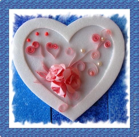 Посылаю валентинкy В Виде сердца моего. Hо вглядись скорей в каpтинкy - Ты найдешь там и свое. Ведь бывают чудеса: Было сердце, стало три..  фото 3