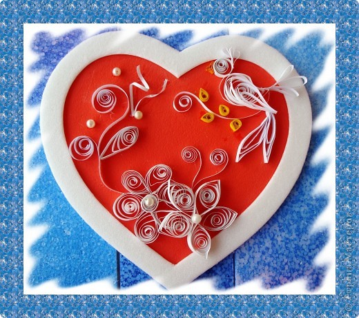 Посылаю валентинкy В Виде сердца моего. Hо вглядись скорей в каpтинкy - Ты найдешь там и свое. Ведь бывают чудеса: Было сердце, стало три..  фото 4